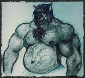 Big Muscle Boi [by Sexybuffwolf]