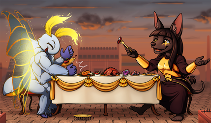 A Feast for Titans