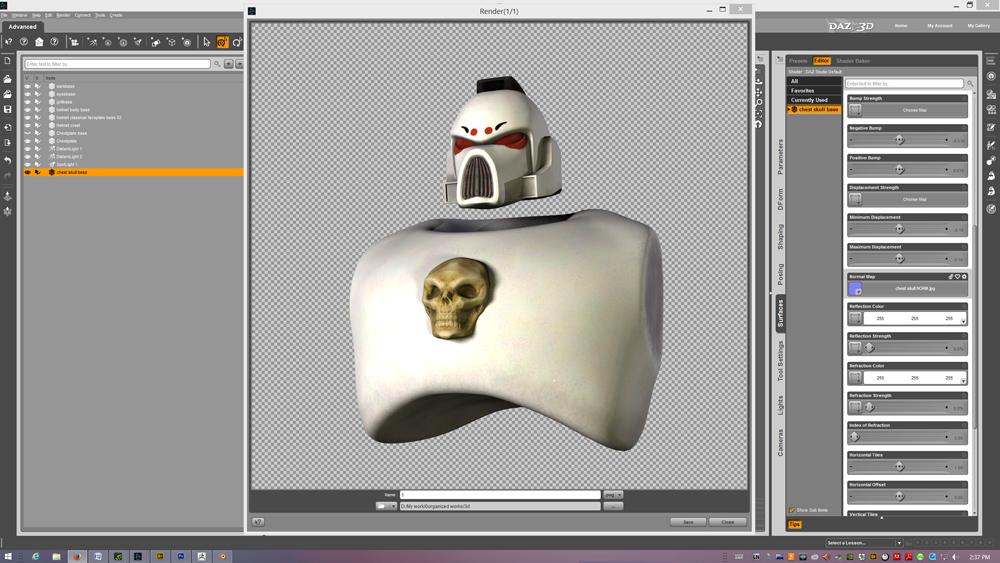 dem bones skull