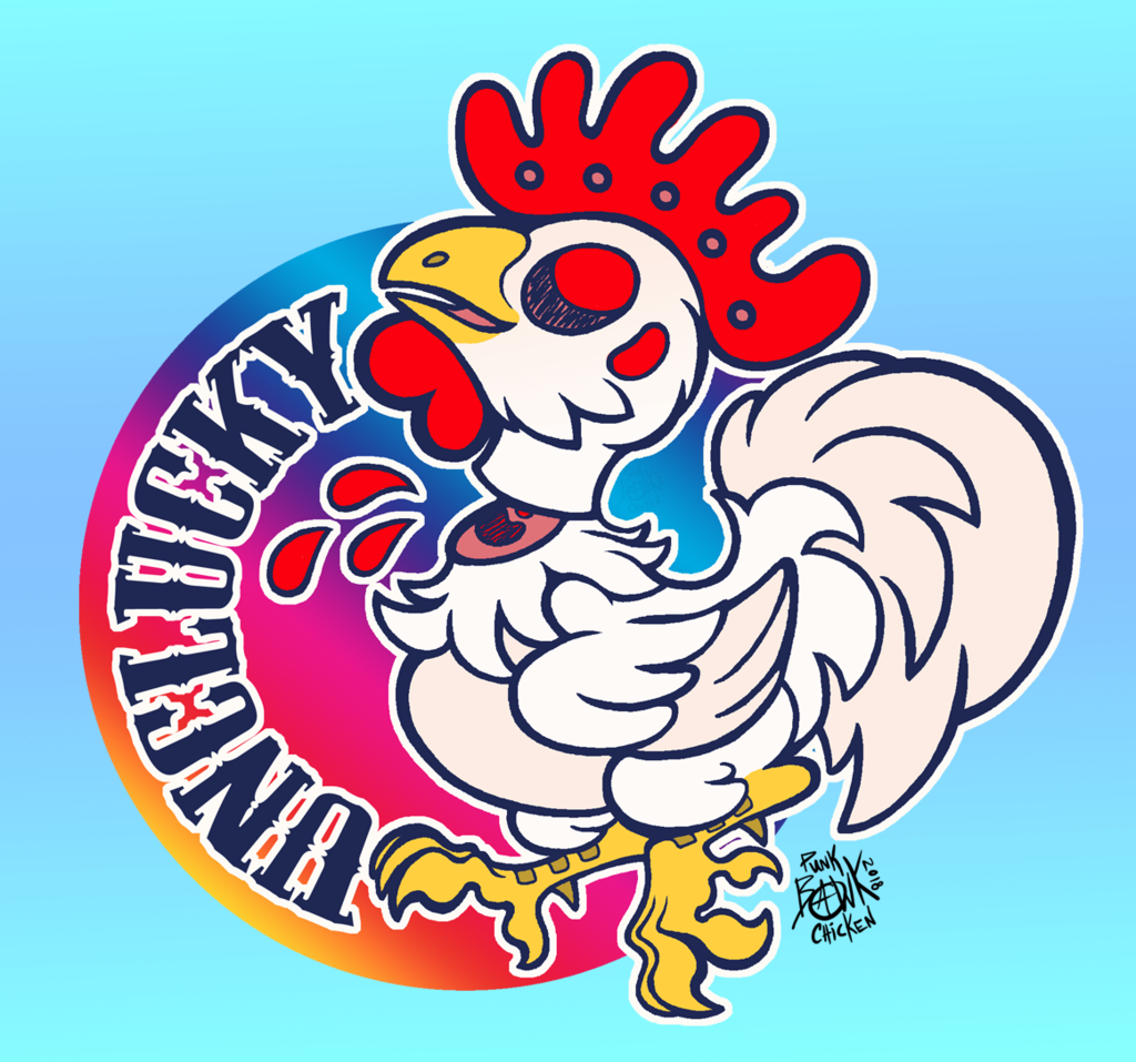 Unclucky!