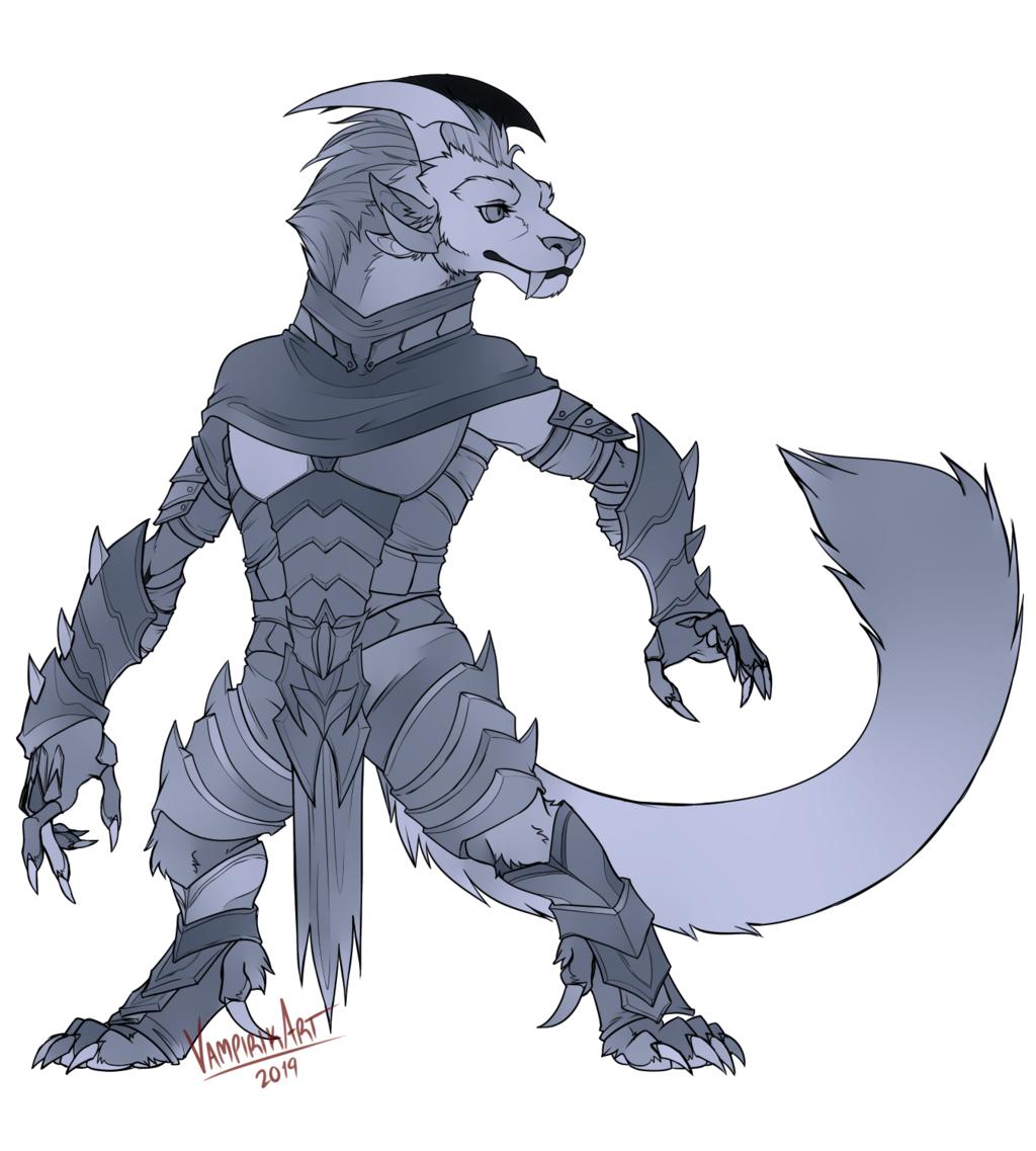 [COM] A sleek warrior