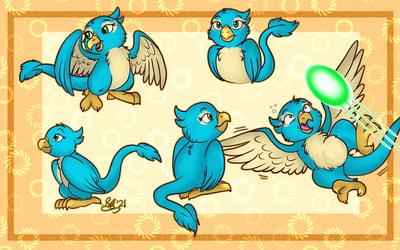 Pteri doodles