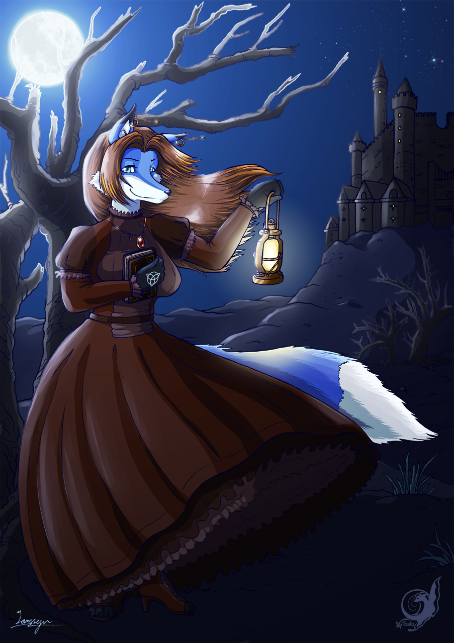 Maggan the Witch - Halloween