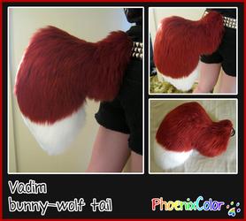 Vadim bunny-wolf tail