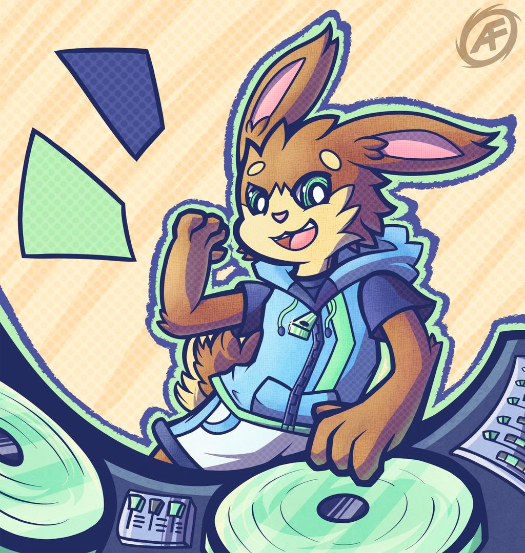 Cool hoodie, cooler bunny