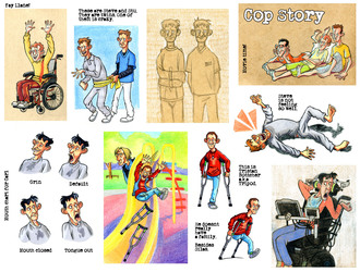 Cop Story Sketches 08