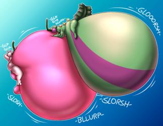 Sloshier Snozzy and Gulping Genko