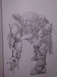 Orcs Do it From the Front