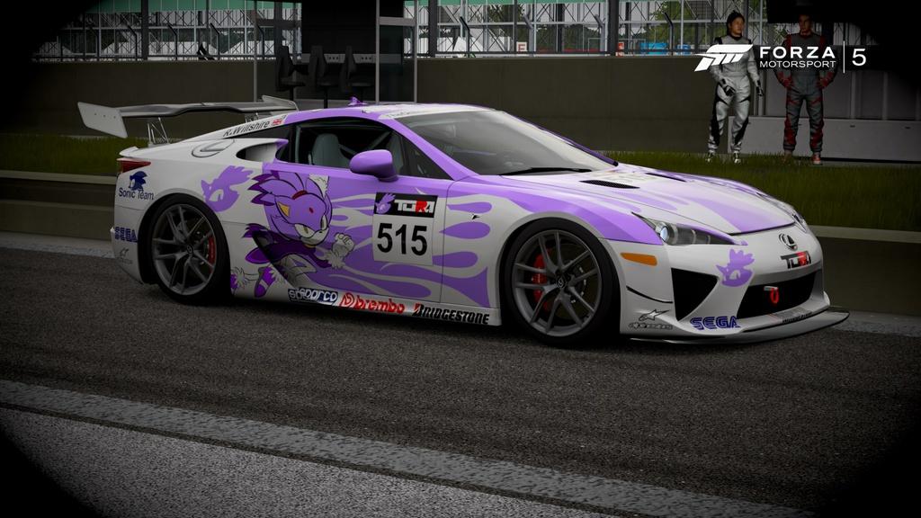Team Blaze Racing LFA