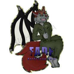 [C]Fade Fullbody Badge