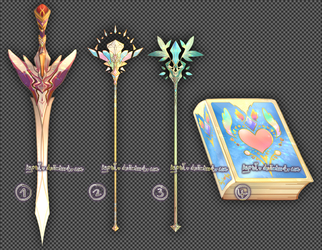 Set Price : Weapon Adopt Set 31 [CLOSED]