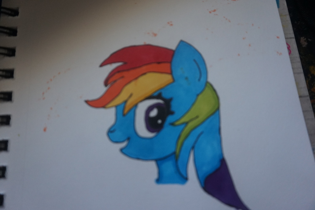 Most recent image: rainbow dash