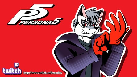 Twitch Banner - Persona 5