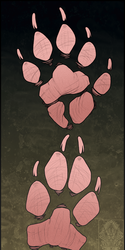 Pawprint Comish - Fur and Claws