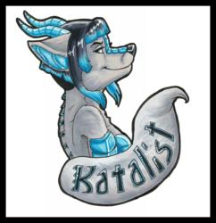 Headshot Badge by pandolfsparade