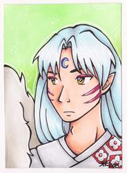 Artist Trading Card - Sesshomaru