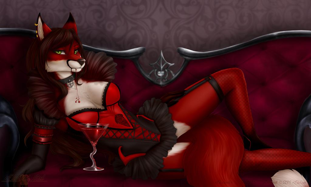 YCH Vampire countess - Katie Fox