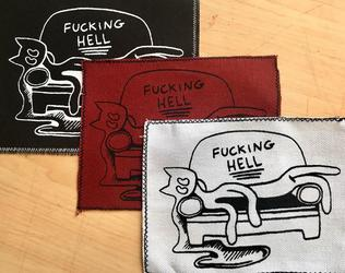 Fucking Hell Screenprinted Patches