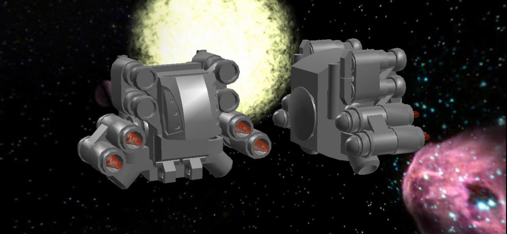 Marathon LEGO: Pfhor Utfoo Class Heavy Assault Crafts