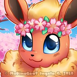 Sakura Flareon icon