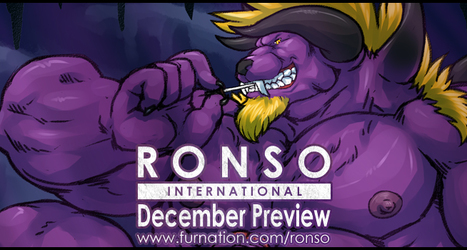 RONSO International - December Preview