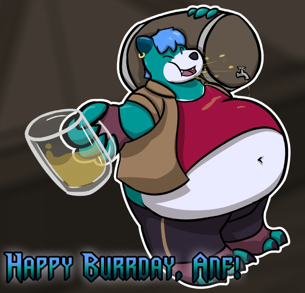 [Daily Draw - 13] Happy Burrday, Anf!