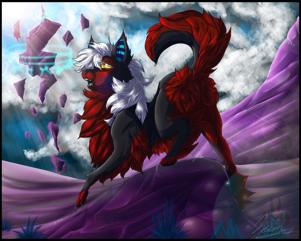 Zecon's wolf form