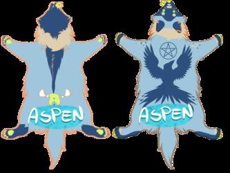 Aspen Pelt Badge