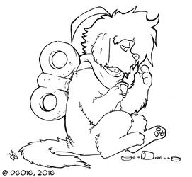 Inktober 5 Sad