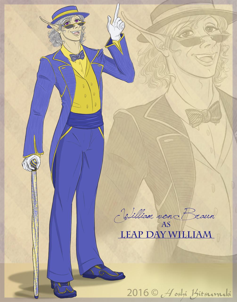 ~ Leap Day William ~