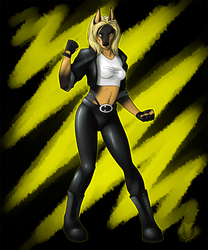 Top Notch Fighter - Diana Lynwood as Sonya Blade