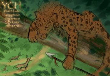 YCH Wild Hunter
