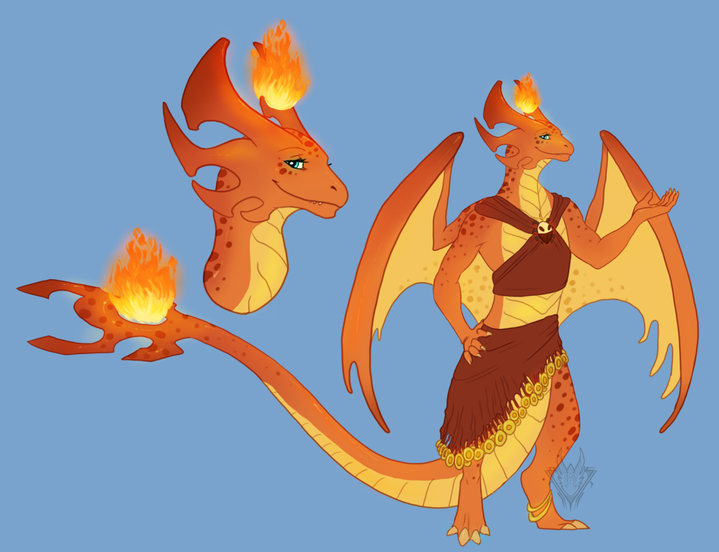 Most recent image: Fire Dancer Adoptable