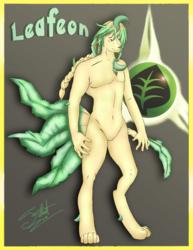 Anthro Leafeon [COM]