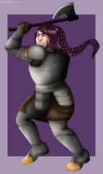 ART TRADE: Lady Dwarf