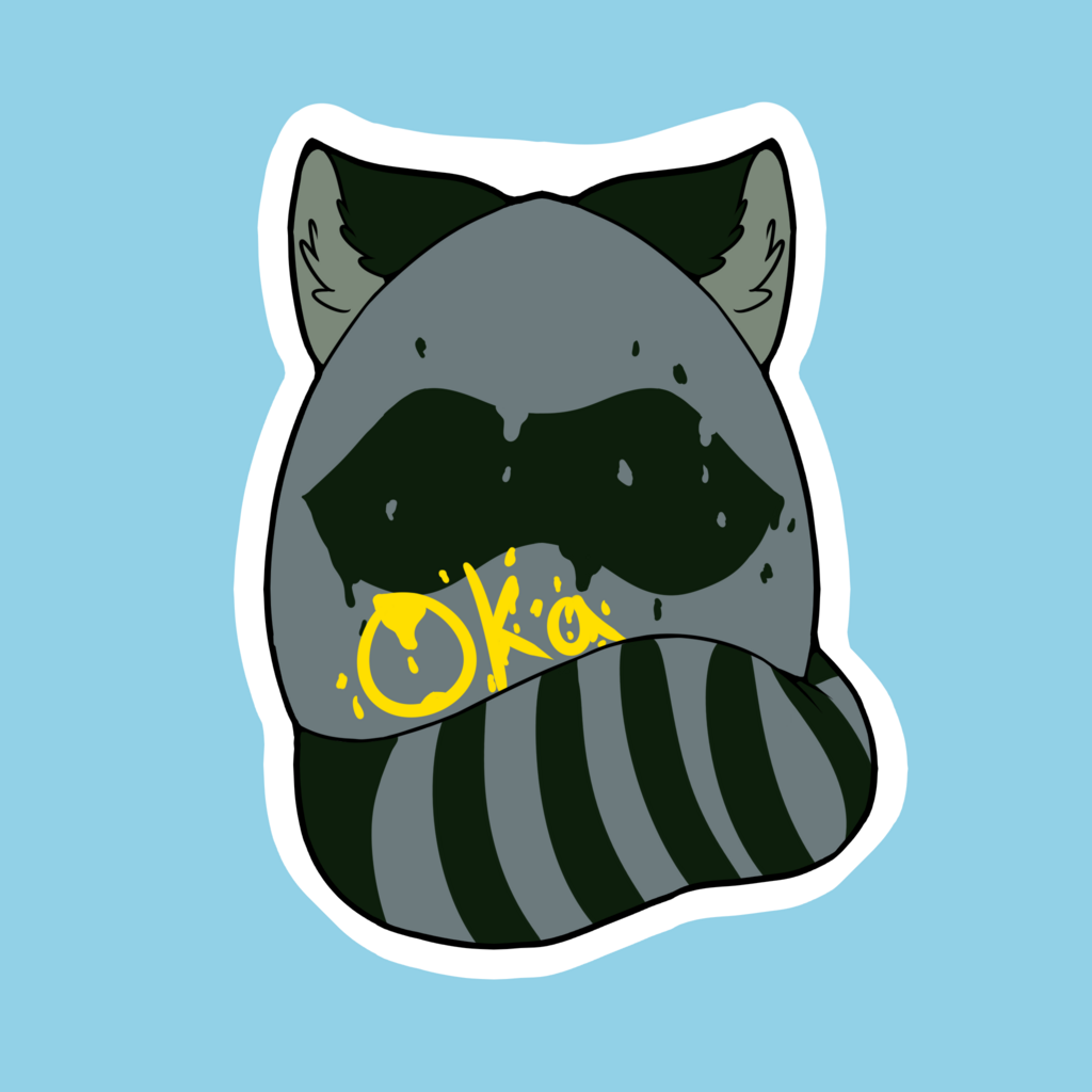 Most recent image: [C] Oka Easter Egg Badge