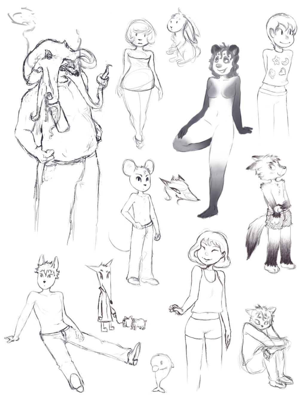 Most recent image: Doodles VI