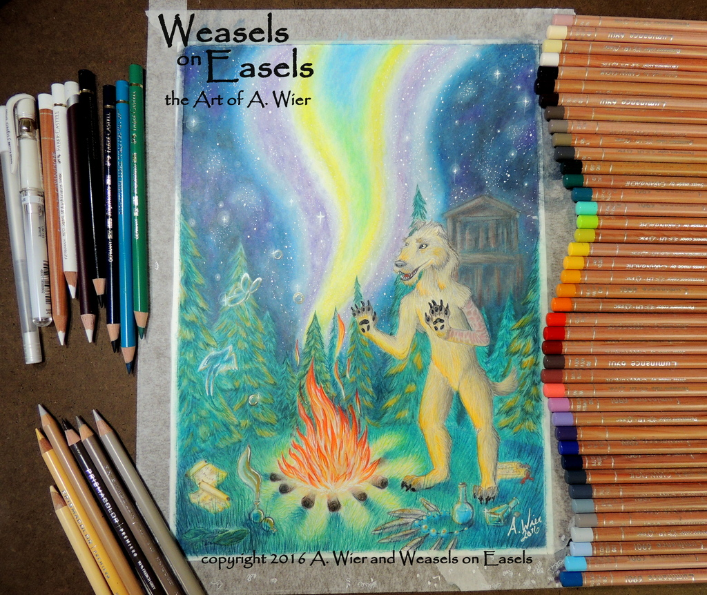 """Soul Speaker"" - Colored Pencil Commission"