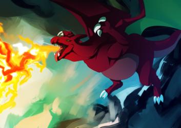 Fire & Flight (by Tabirs)