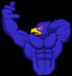 Falco Flexing