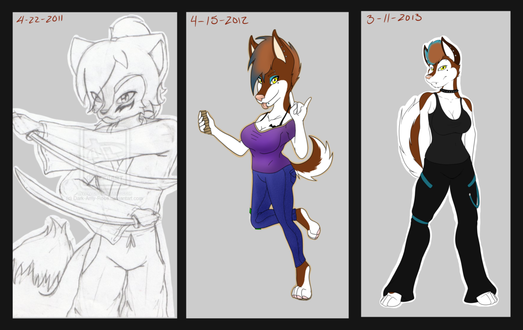 3 years of improvement