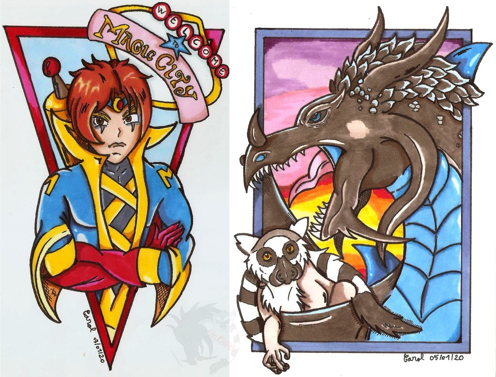 Promarkers drawings #2