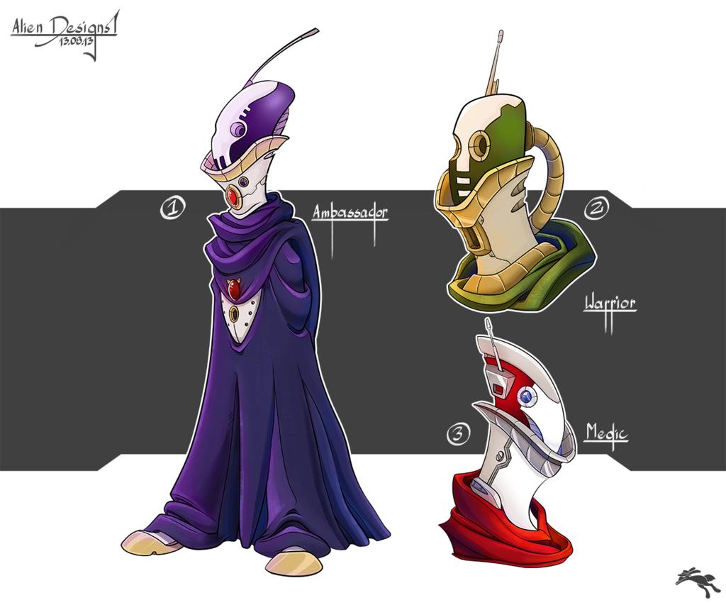 Most recent image: Alien Designs