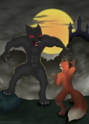 Fox meets Werewolf