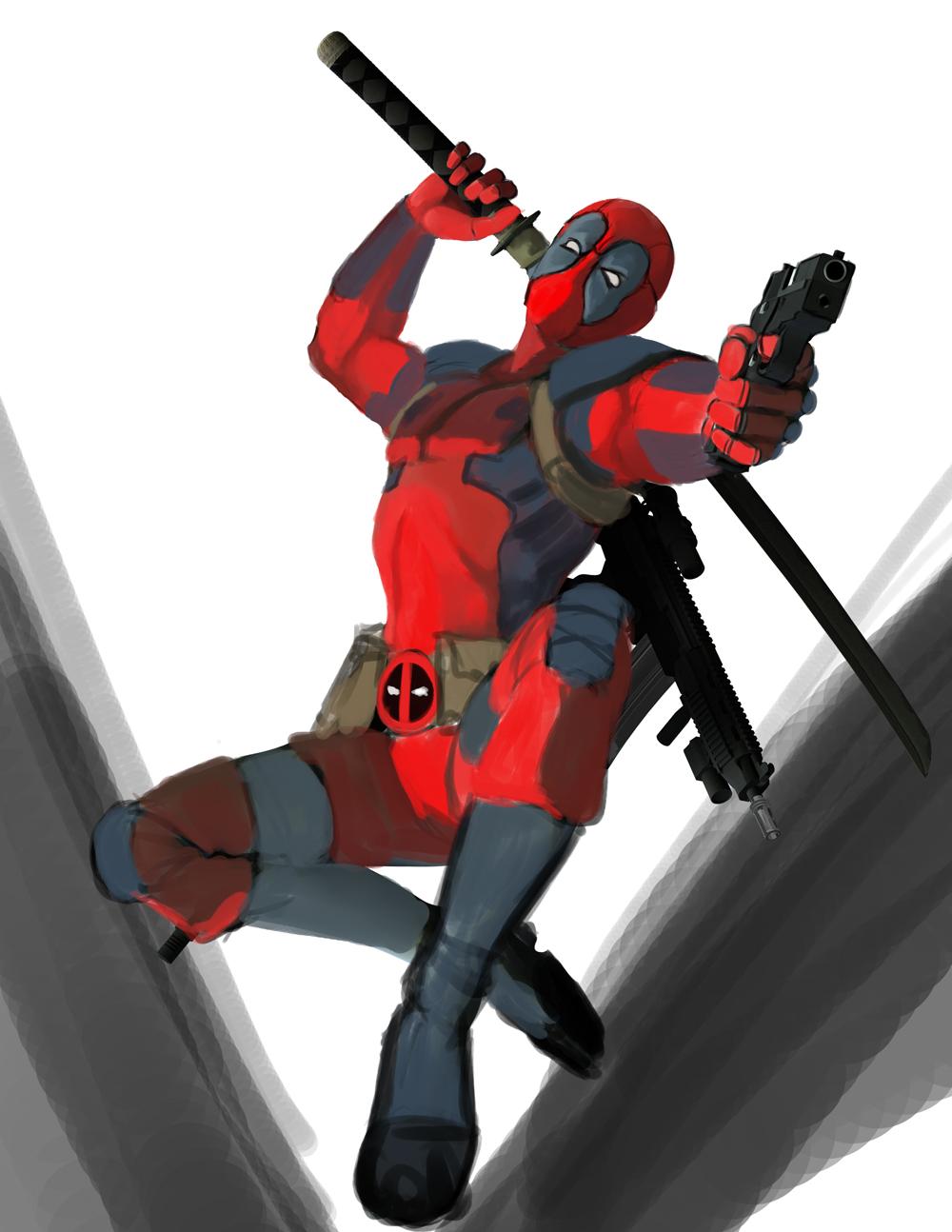 Deadpool character study