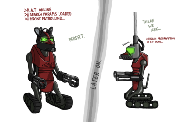 Rapid Attack (Territorial) Drone, page 3