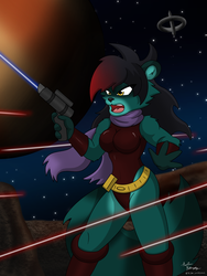 Outer-Space Shootout