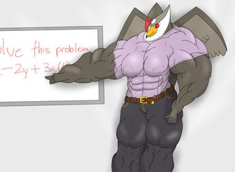 Sexy Muscled Teacher