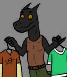 Help Levi pick a shirt