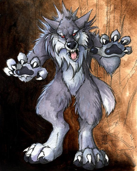 Grrrrr werewolf.